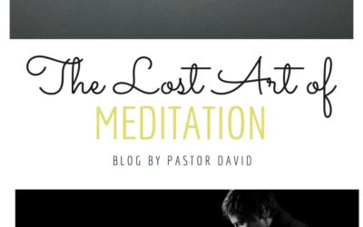 The Lost Art of Meditation